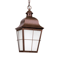 Chatham 1 Light 9 inch Weathered Copper Outdoor Pendant