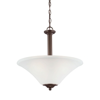 Sea Gull Holman 3 Light Pendant in Bell Metal Bronze 69808BLE-827