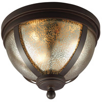 Sea Gull Sfera 3 Light Flush Mount in Autumn Bronze 7510403BLE-715 photo thumbnail
