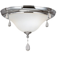 Sea Gull West Town 2 Light Flush Mount in Chrome 7510502-05