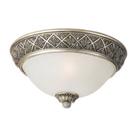 Sea Gull Lighting Highlands 2 Light Flush Mount in Palladium 75250-824 photo thumbnail