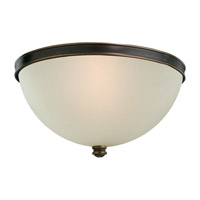 Sea Gull Warwick 2 Light Flush Mount in Autumn Bronze 75330-715