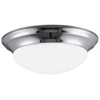 Sea Gull 7543593S-05 Nash LED 14 inch Chrome Flush Mount Ceiling Light