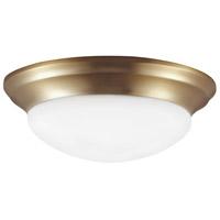 Sea Gull 7543593S-848 Nash LED 14 inch Satin Bronze Flush Mount Ceiling Light