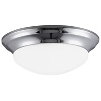 Sea Gull 7543693S-05 Nash LED 17 inch Chrome Flush Mount Ceiling Light