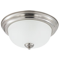 Sea Gull Holman 3 Light Flush Mount in Brushed Nickel 75443-962