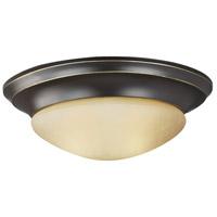 Sea Gull 7544493S-782 Nash LED 12 inch Heirloom Bronze Flush Mount Ceiling Light