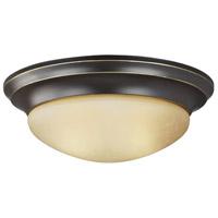 Sea Gull 7544593S-782 Nash LED 14 inch Heirloom Bronze Flush Mount Ceiling Light