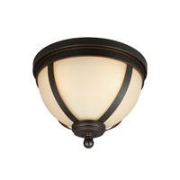 Sea Gull 7590403EN3-715 Sfera 3 Light 14 inch Autumn Bronze Flush Mount Ceiling Light