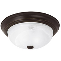Sea Gull 75943-782 Windgate 3 Light 15 inch Heirloom Bronze Flush Mount Ceiling Light in Standard photo thumbnail