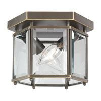 Sea Gull 7647-782 Bretton 2 Light 8 inch Heirloom Bronze Flush Mount Ceiling Light