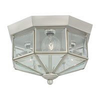 Sea Gull 7661-962 Grandover 3 Light 9 inch Brushed Nickel Flush Mount Ceiling Light