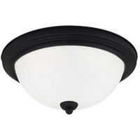 Sea Gull Signature 3 Light Flush Mount in Blacksmith 77065-839