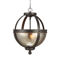 Sea Gull 7710402EN3-715 Sfera 2 Light 14 inch Autumn Bronze Semi-Flush Convertible Pendant Ceiling Light