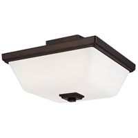 Sea Gull 7713702-778 Ellis Harper 2 Light 13 inch Brushed Oil Rubbed Bronze Semi-Flush Mount Ceiling Light