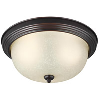 Sea Gull 7716393S-710 Signature LED 11 inch Burnt Sienna Flush Mount Ceiling Light