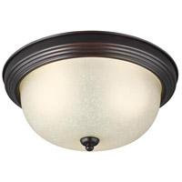Sea Gull 7716393S-710 Signature LED 11 inch Burnt Sienna Flush Mount Ceiling Light