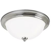 Sea Gull 7716493S-05 Signature LED 13 inch Chrome Flush Mount Ceiling Light