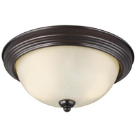 Sea Gull 7716493S-710 Signature LED 13 inch Burnt Sienna Flush Mount Ceiling Light