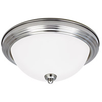 Sea Gull 7716493S-962 Signature LED 13 inch Brushed Nickel Flush Mount Ceiling Light