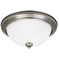 Sea Gull 7716493S-965 Signature LED 13 inch Antique Brushed Nickel Flush Mount Ceiling Light