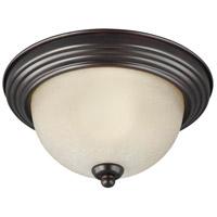 Sea Gull 7716593S-710 Signature LED 15 inch Burnt Sienna Flush Mount Ceiling Light