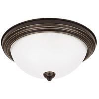Sea Gull 7716593S-782 Signature LED 15 inch Heirloom Bronze Flush Mount Ceiling Light