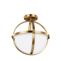 Sea Gull 7724602-848 Alturas 2 Light 14 inch Satin Bronze Convertible Pendant Ceiling Light alternative photo thumbnail