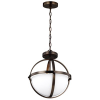 Sea Gull 7724602EN3-778 Alturas LED 14 inch Brushed Oil Rubbed Bronze Semi-Flush Convertible Pendant Ceiling Light