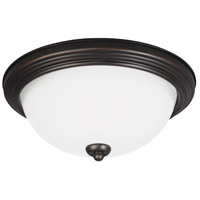 Sea Gull 7726393S-710 Signature LED 11 inch Burnt Sienna Flush Mount Ceiling Light