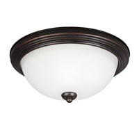 Sea Gull 77264S-710 Signature LED 13 inch Burnt Sienna Flush Mount Ceiling Light photo thumbnail