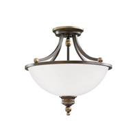 Sea Gull 77350-708 Laurel Leaf 2 Light 16 inch Estate Bronze Pendant Convertible Ceiling Light alternative photo thumbnail