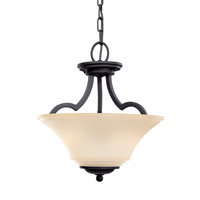 Somerton 2 Light 13 inch Blacksmith Convertible Pendant Ceiling Light