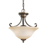 Parkview 2 Light 15 inch Russet Bronze Convertible Pendant Ceiling Light
