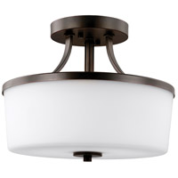 Hettinger 2 Light 13 inch Burnt Sienna Convertible Pendant Ceiling Light