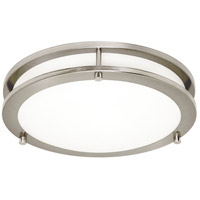 Sea Gull 7750893S-962 Mahone LED 18 inch Brushed Nickel Flush Mount Ceiling Light