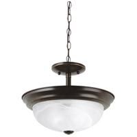 Sea Gull 77950-782 Windgate 2 Light 12 inch Heirloom Bronze Semi-Flush Mount Ceiling Light