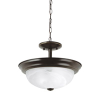 Windgate 2 Light 13 inch Heirloom Bronze Convertible Pendant Ceiling Light