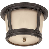 Cape May LED 11 inch Burled Iron Outdoor Flush Mount