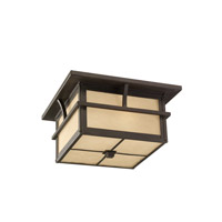 Medford Lakes 2 Light 13 inch Statuary Bronze Outdoor Flush Mount