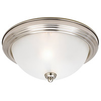 Sea Gull Lighting Signature 2 Light Flush Mount in Brushed Nickel 79364BLE-962