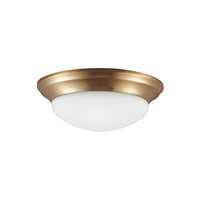 Sea Gull Nash 1 Light Flush Mount in Satin Bronze 79434BLE-848