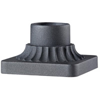 Signature 6 inch Black Pedestal Mount Adapter
