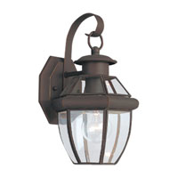 Sea Gull 8037-71 Lancaster 1 Light 12 inch Antique Bronze Outdoor Wall Lantern