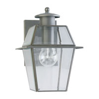 Sea Gull Lighting Colony 1 Light Outdoor Wall Lantern in Antique Bronze 8056-71