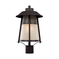 Hamilton Heights 1 Light 19 inch Oxford Bronze Outdoor Post Lantern