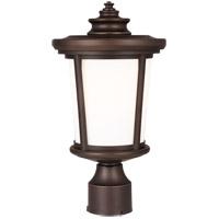 Sea Gull 8219301-71 Eddington 1 Light 15 inch Antique Bronze Outdoor Post Lantern