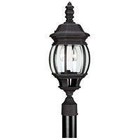 Sea Gull Lighting Wynfield 2 Light Outdoor Post Lantern in Black 82200-12