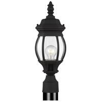Sea Gull 82202-12 Wynfield 1 Light 19 inch Black Outdoor Post Lantern
