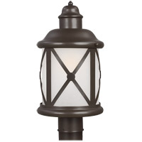 Sea Gull Lakeview 1 Light Outdoor Post Lantern in Antique Bronze 8221401BLE-71